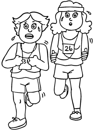 coloring pictures aerobics,printable,coloring pages