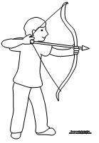 coloring pictures archery,printable,coloring pages