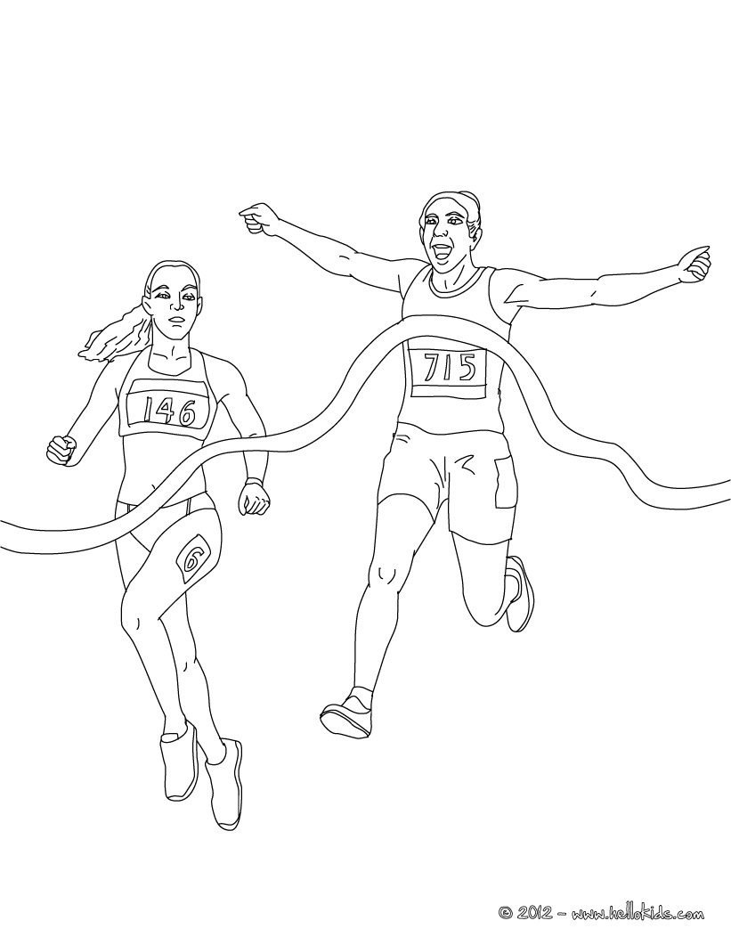 athletics coloring page to print,printable,coloring pages
