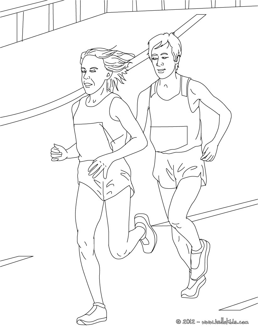 coloring pictures athletics,printable,coloring pages