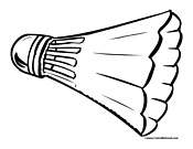 badminton coloring page,printable,coloring pages