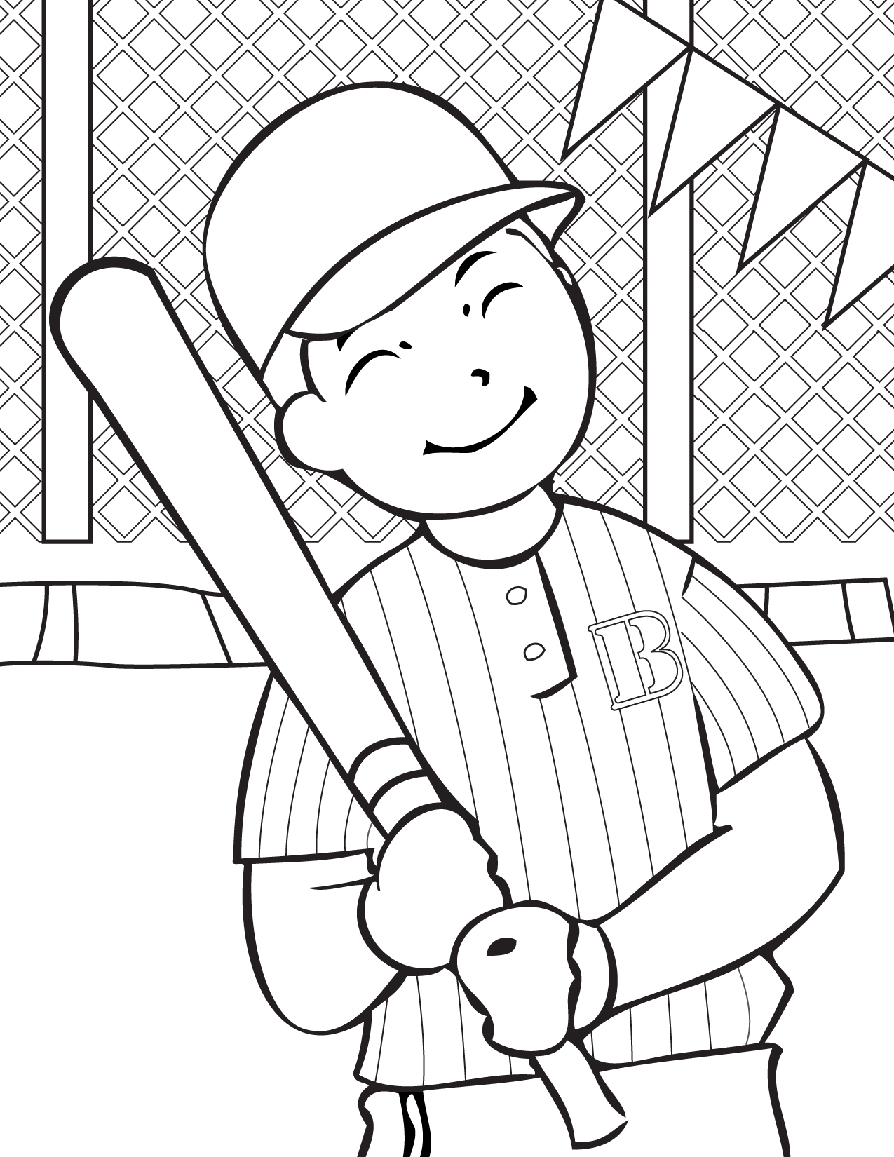 12 baseball coloring pages print color craft