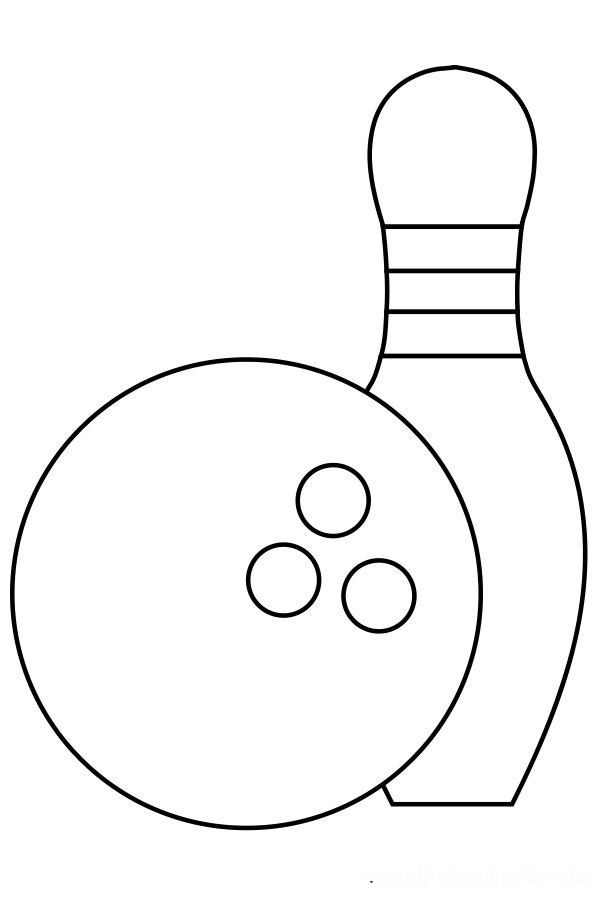 bowling coloring pages 12,printable,coloring pages