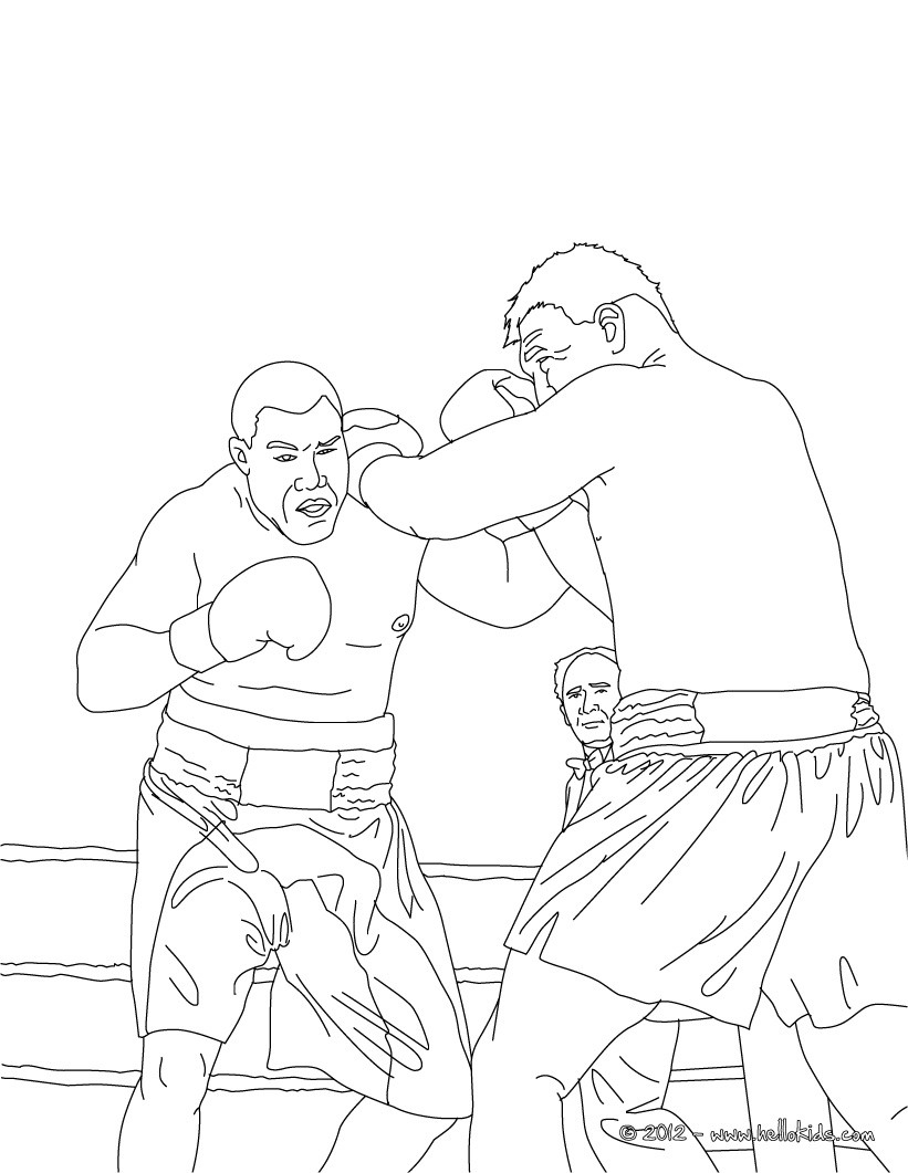 boxing coloring pages 13,printable,coloring pages