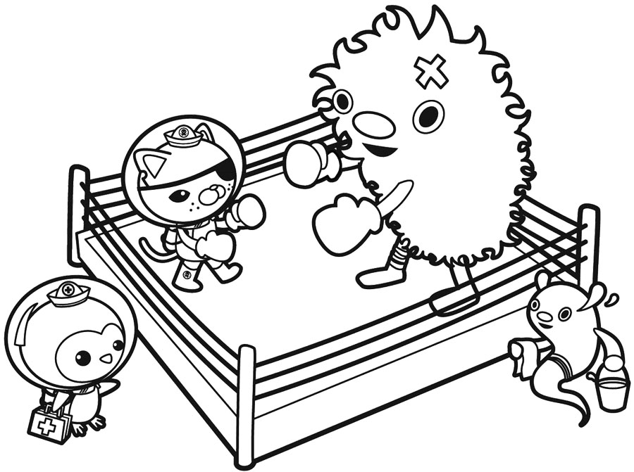 boxing coloring pages for kids,printable,coloring pages