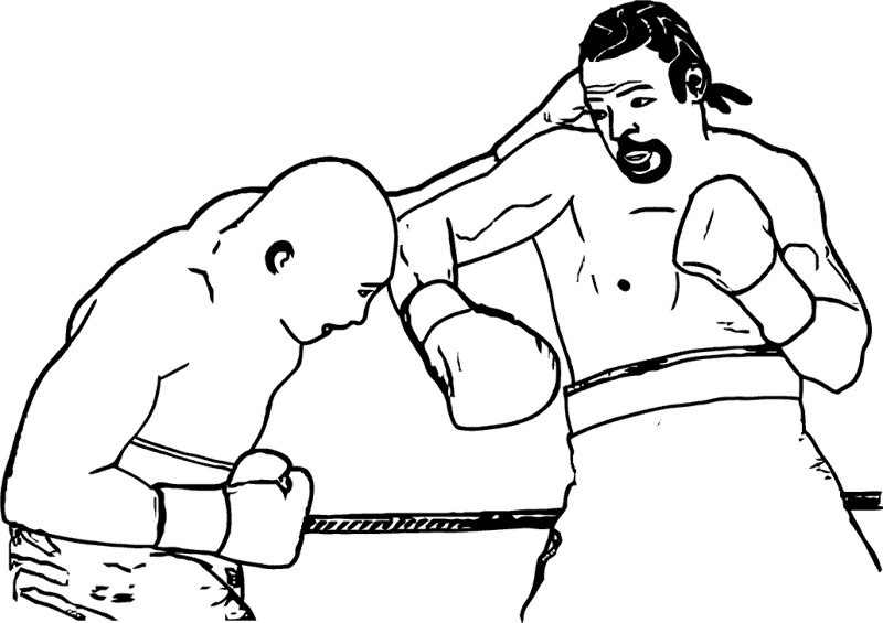 printable boxing coloring pages,printable,coloring pages