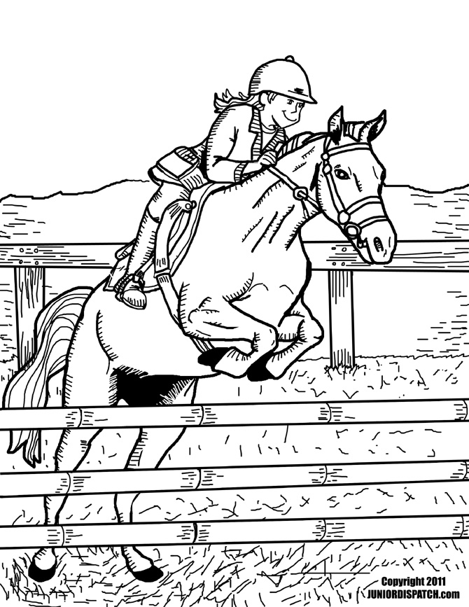 equestrian coloring page to print,printable,coloring pages