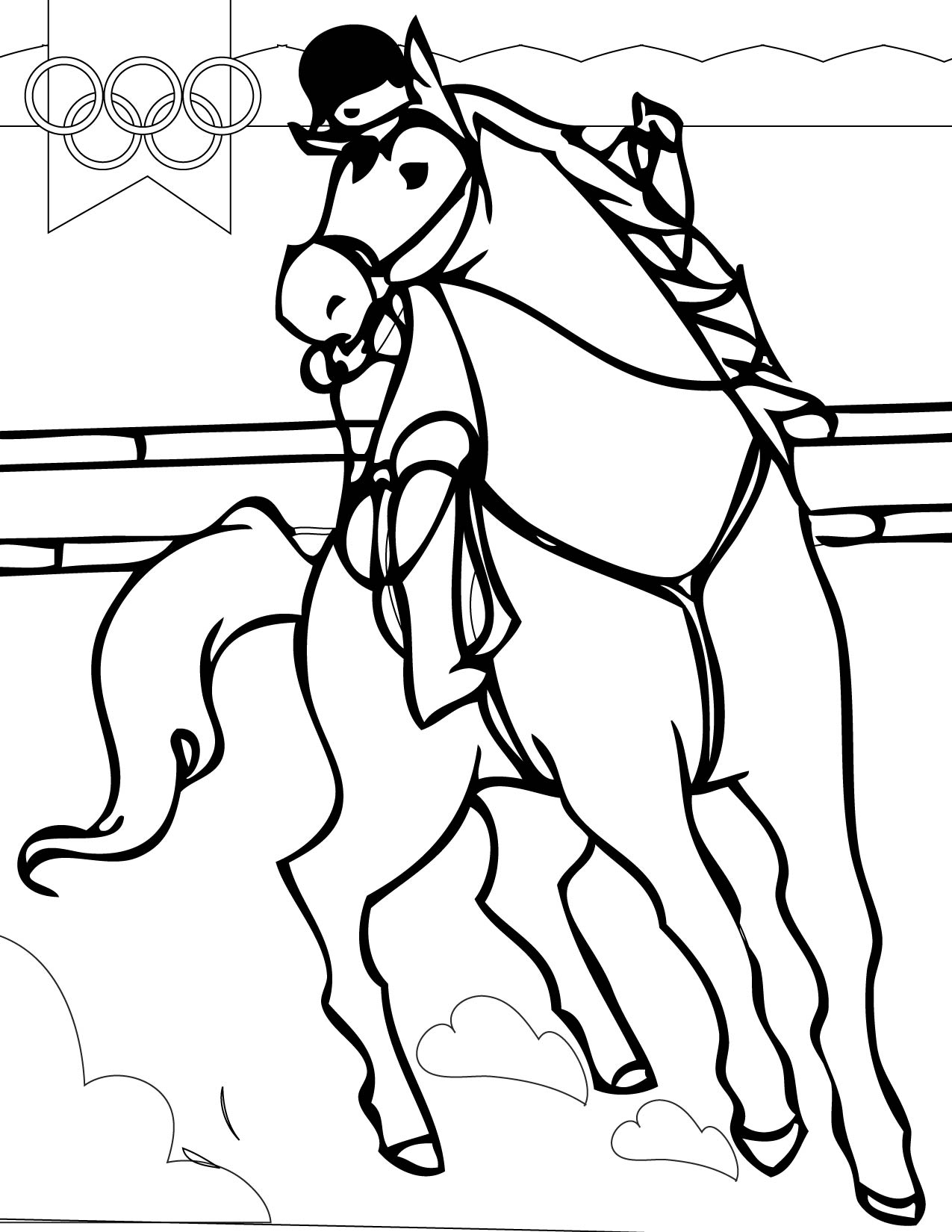 equestrian coloring pages for kids,printable,coloring pages