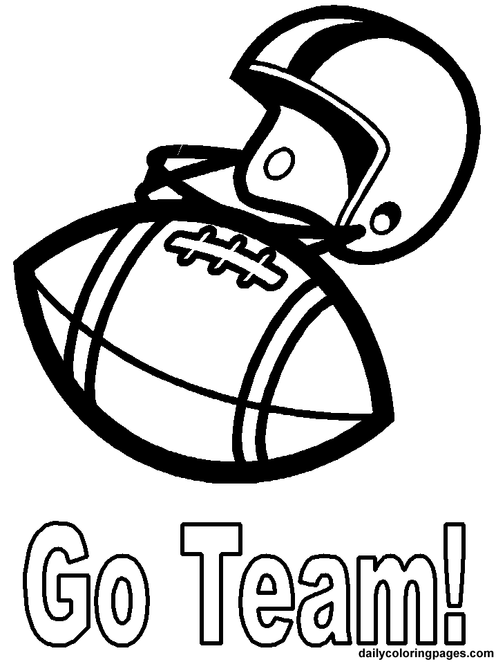 12 football coloring page to print | Print Color Craft
