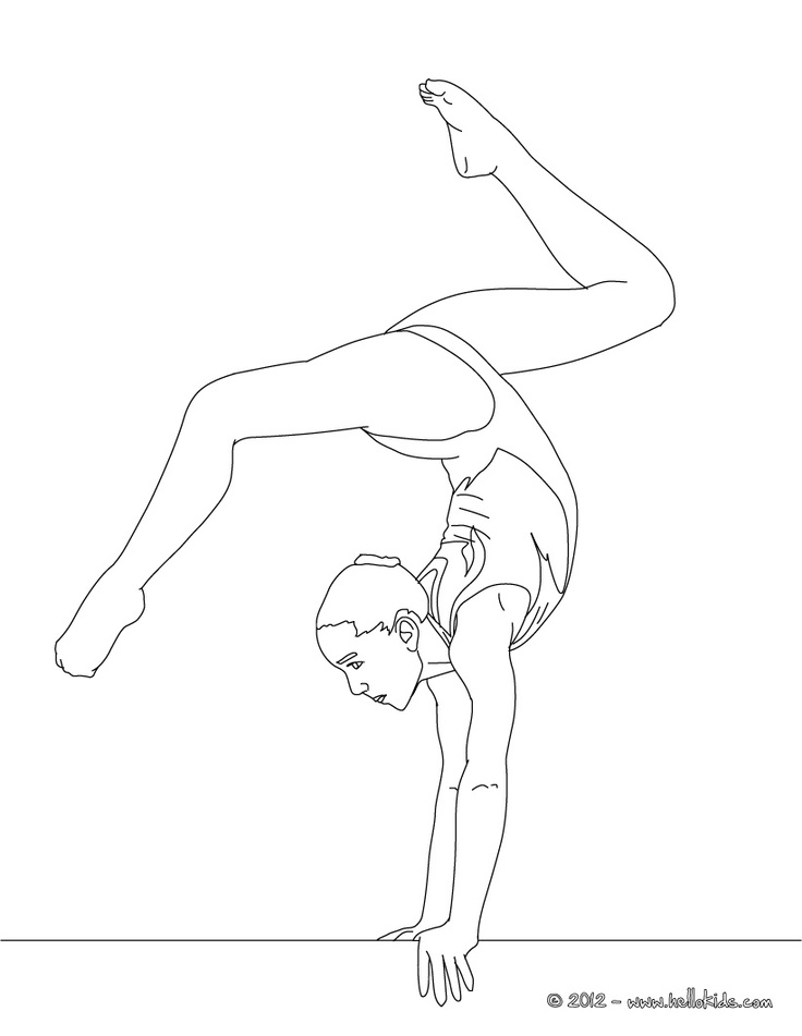 Gymnastics coloring pages 37 pictures quotes and clipart | Print ...