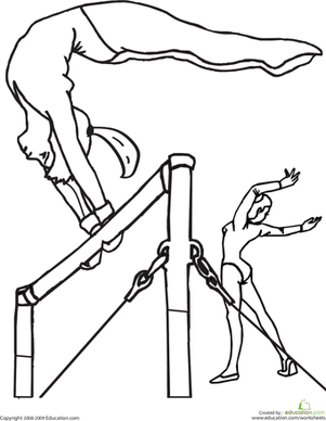 Gymnastics coloring pages 37 pictures quotes and clipart ...