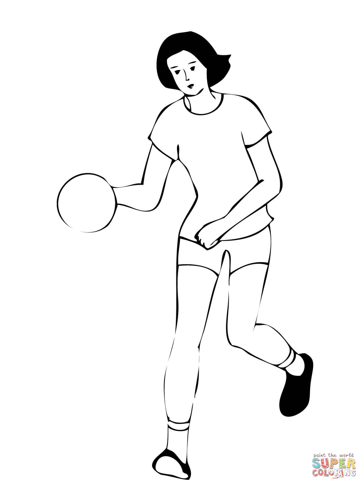 handball coloring pages 15,printable,coloring pages