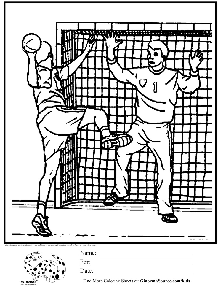 printable handball coloring pages,printable,coloring pages