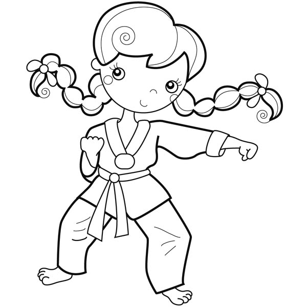 Mma Coloring Pages
