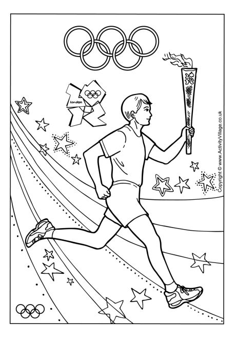 olympic-games coloring page,printable,coloring pages