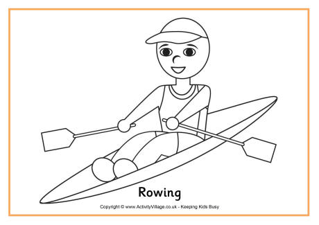 coloring pages of rowing,printable,coloring pages