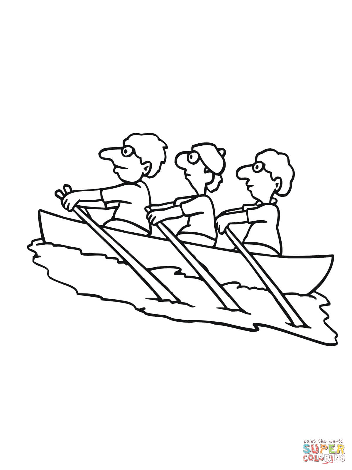 kids coloring pages rowing,printable,coloring pages