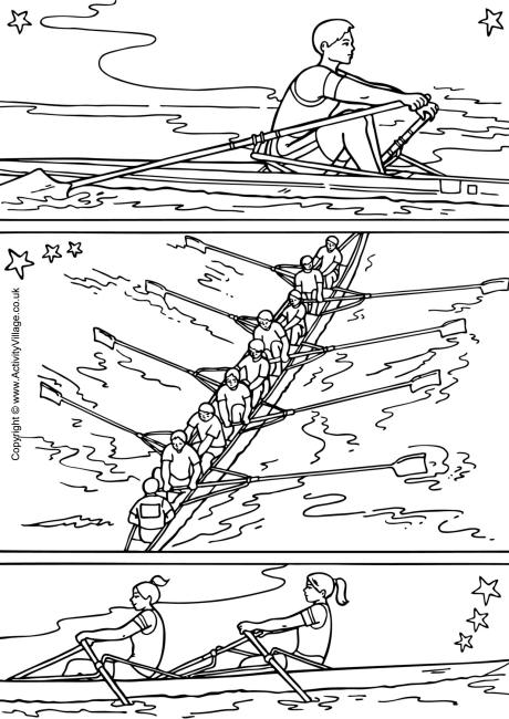 rowing coloring pages,printable,coloring pages