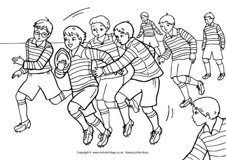 coloring pictures rugby,printable,coloring pages