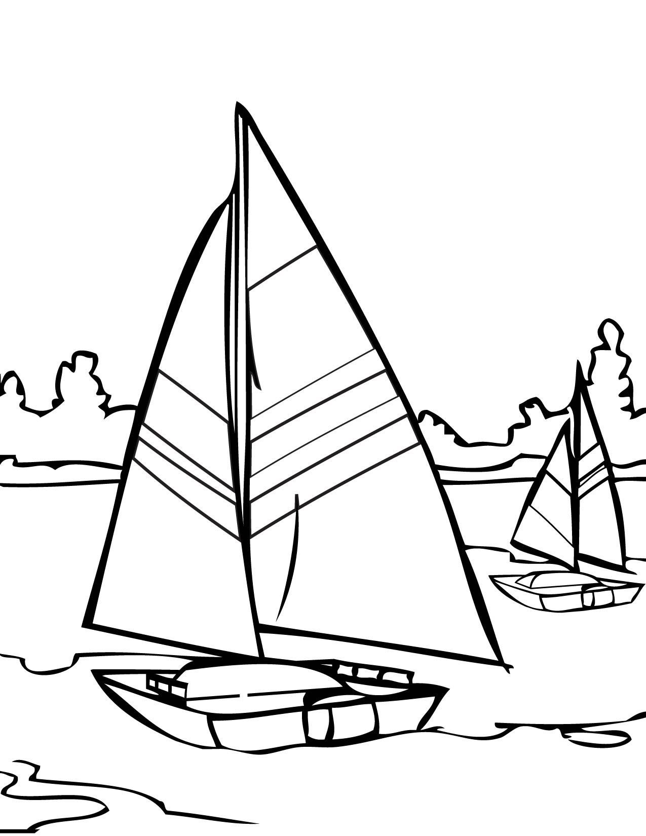 14 printable pictures of sailing