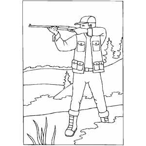 coloring pictures shooting,printable,coloring pages