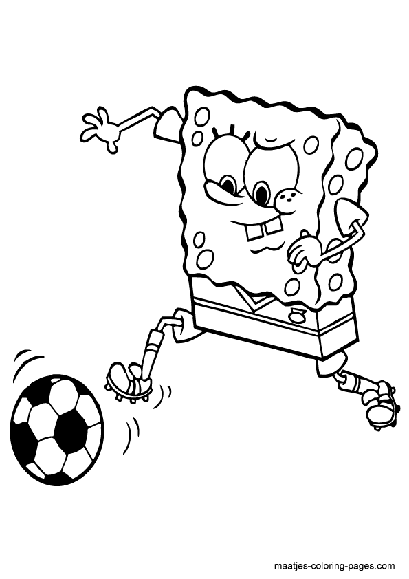 Lets color 14 Soccer coloring pages Print Color Craft