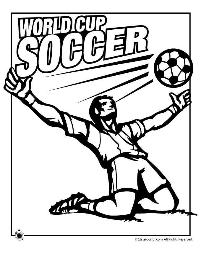 World cup football coloring pages murderthestout for Soccer coloring pages to print