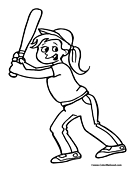softball coloring pages 11printablecoloring pages