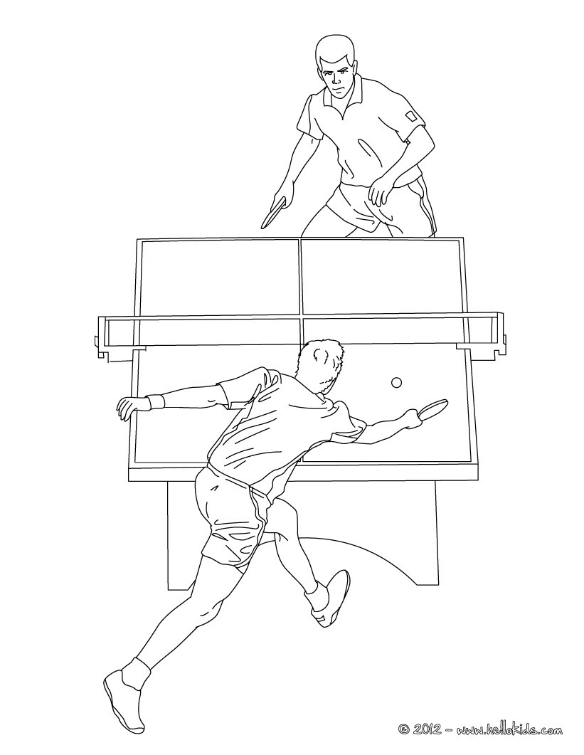 table-tennis coloring pages 11,printable,coloring pages