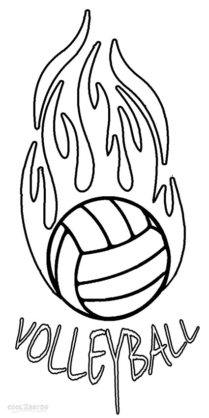 coloring pages of volleyball,printable,coloring pages
