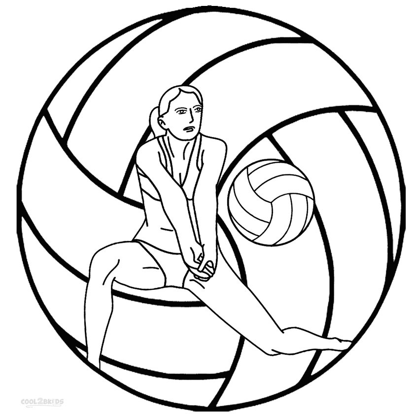 printable pictures of volleyball page,printable,coloring pages