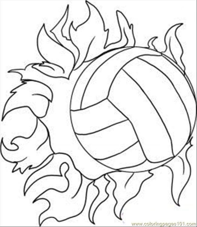 volleyball coloring page to print,printable,coloring pages
