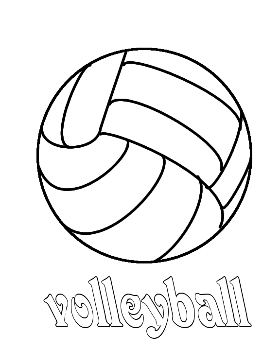 volleyball coloring pages,printable,coloring pages
