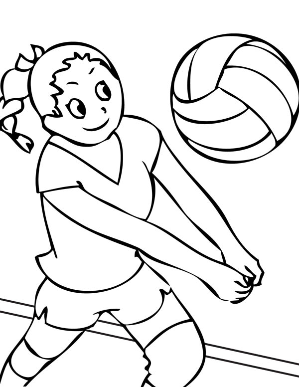 volleyball coloring pages 13,printable,coloring pages