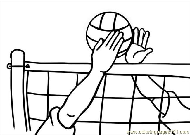 volleyball coloring pages printable,printable,coloring pages