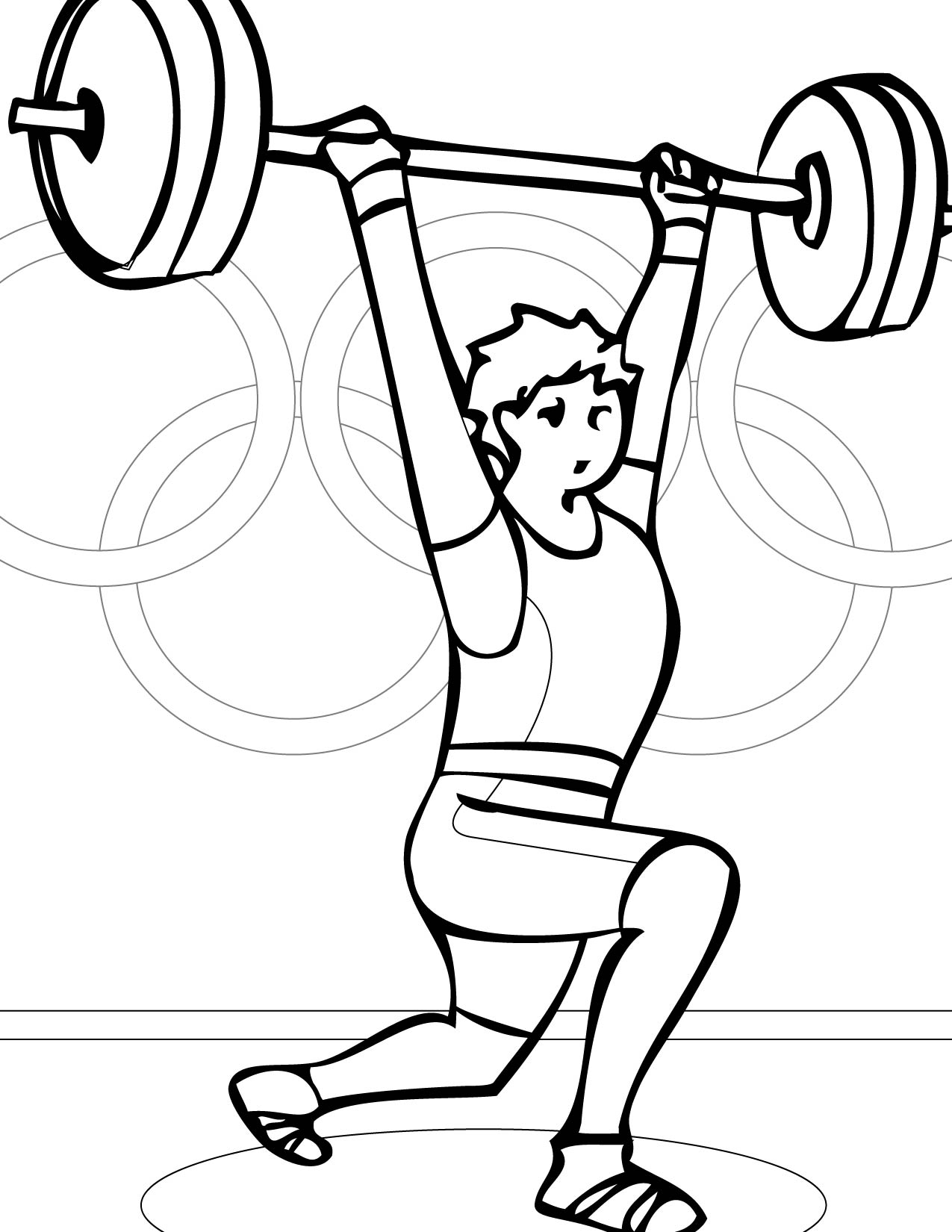 coloring pages of weight-lifting,printable,coloring pages