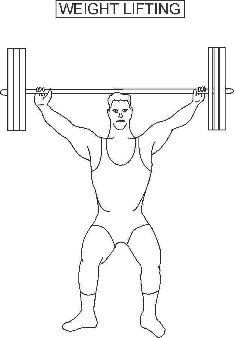 weight-lifting coloring page to print,printable,coloring pages