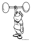 weight-lifting coloring pages printable,printable,coloring pages