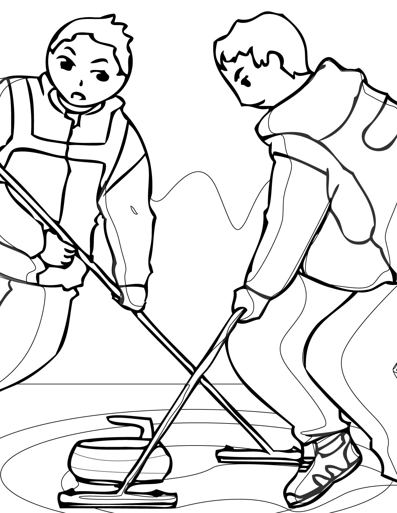 printable sports coloring pages - 23 winter season coloring pages print color craft