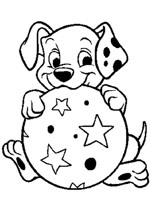 14 101 dalmatians coloring page to print  Print Color Craft