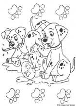 101-dalmatians coloring pages 12,printable,coloring pages