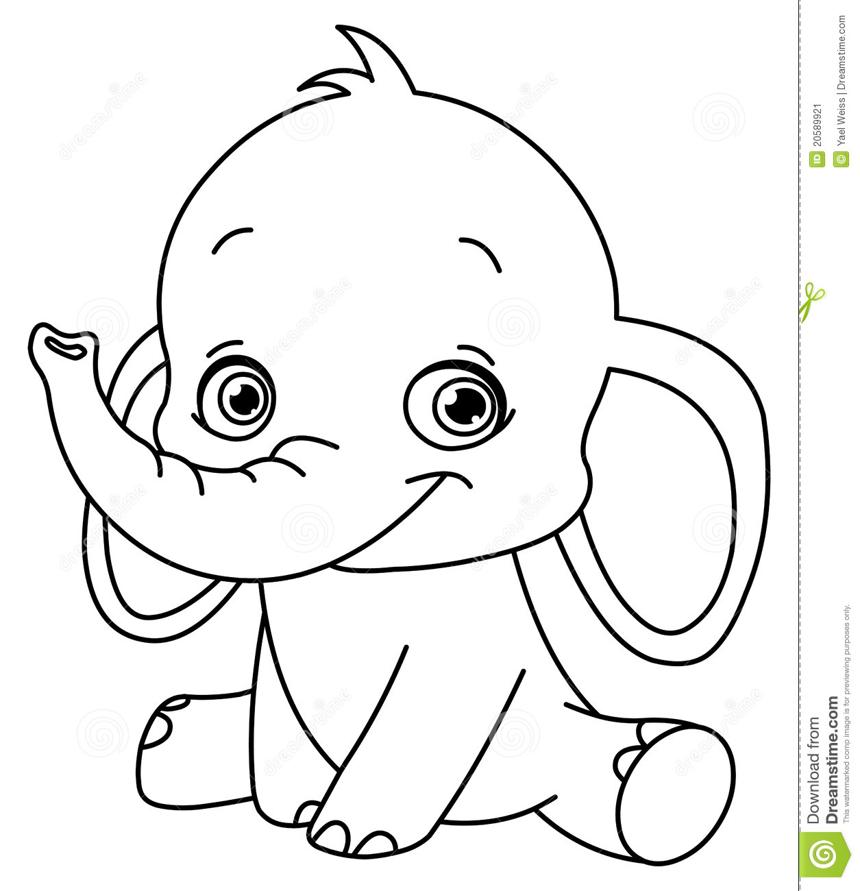 baby-elephant coloring pages,printable,coloring pages
