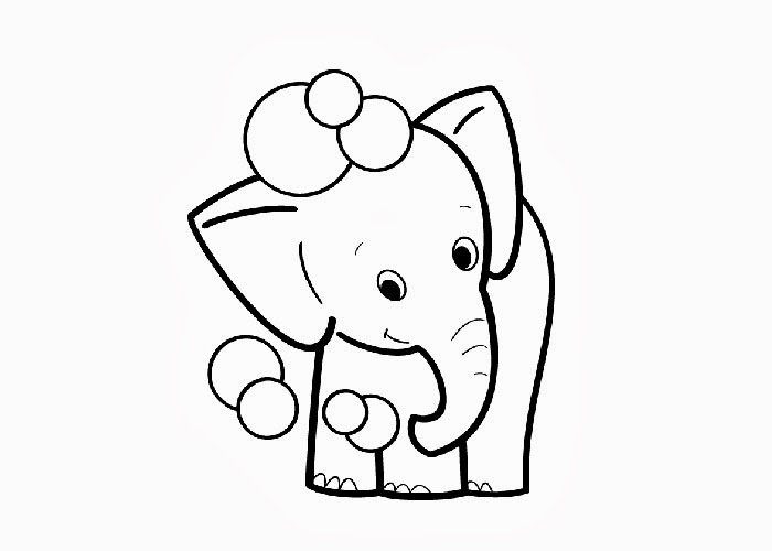 baby-elephant coloring pages 11,printable,coloring pages