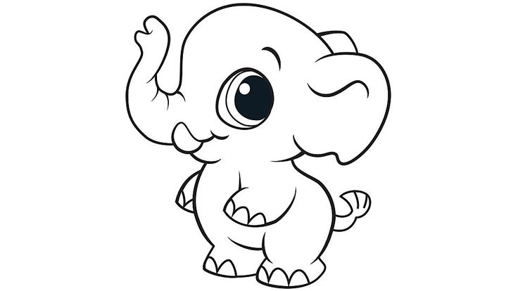 baby-elephant coloring pages for kids,printable,coloring pages