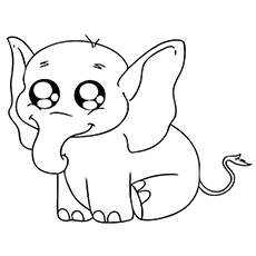 baby-elephant coloring pages printable,printable,coloring pages