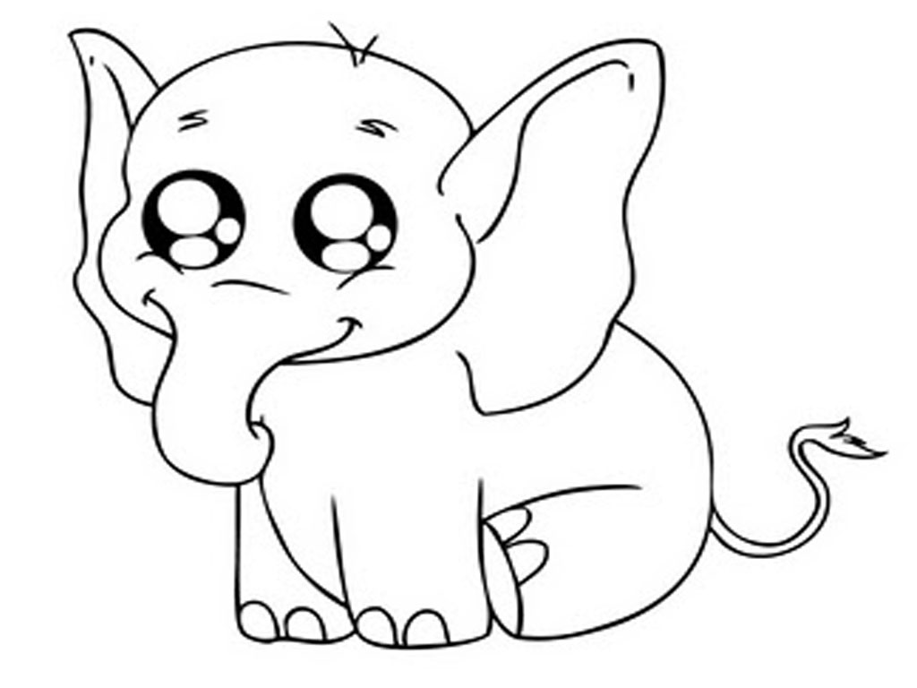 coloring pages of baby-elephant,printable,coloring pages