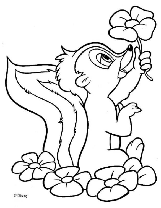 kids coloring pages bambi,printable,coloring pages