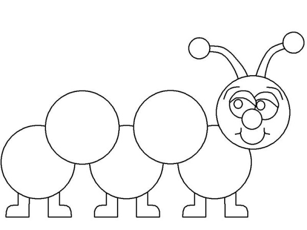 Caterpillar Coloring Pages Print Color Craft Caterpillar Colouring Pages