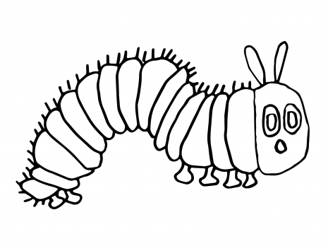caterpillar coloring page to print,printable,coloring pages