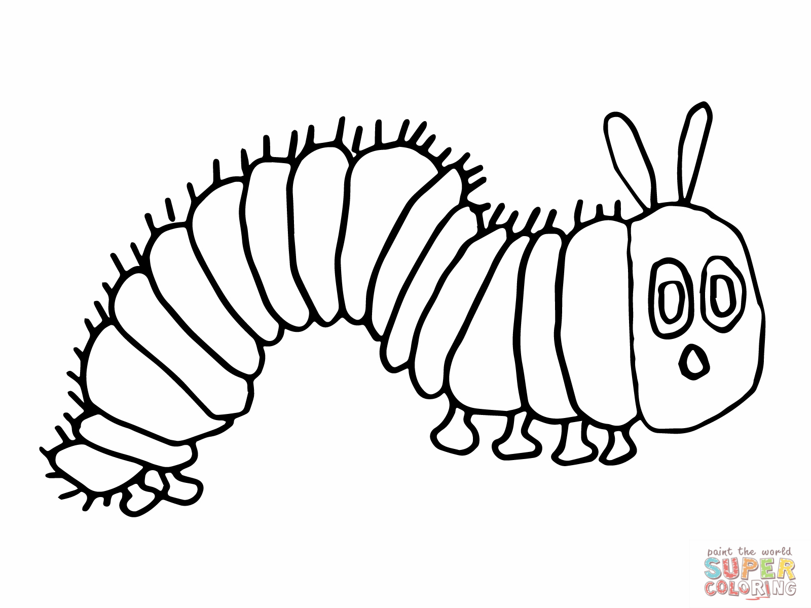 coloring pages of caterpillar,printable,coloring pages